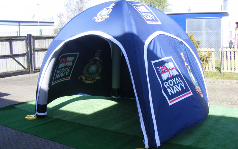 Fully Printed Inflatable Tent