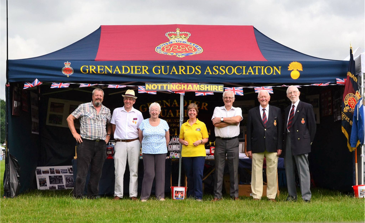 Grenadier guards printed marquee